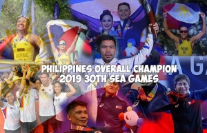 Philippines overall champion 2019 30th sea games.