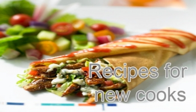 Recipes for new cooks at chef and recipes