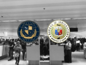 """Underage Trafficking Victims,Intercepted Last Sept. 21 At The NAIA Terminal 2 From Dubai To Saudi Arabia."" Bureau Of Immigration Port Operations Chief Grifton Medina"
